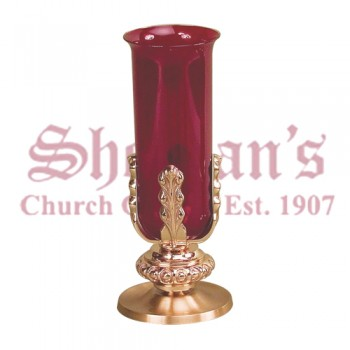 Altar Sanctuary Lamp in Smooth Satin Finish