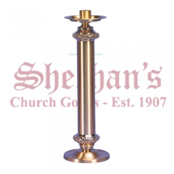 Altar Candlestick in Smooth Satin Finish