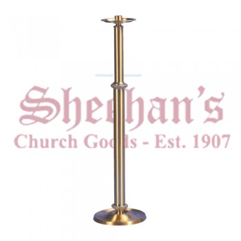 Processional Candlestick in Smooth Satin Finish