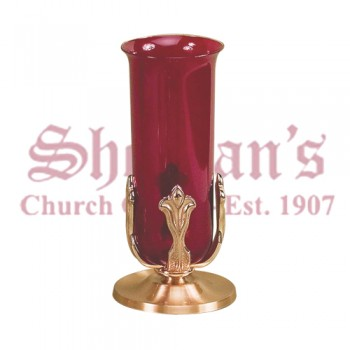 Small Altar Sanctuary Lamp with High Relief Design