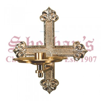 Consecration Candle Holder with High Relief Design