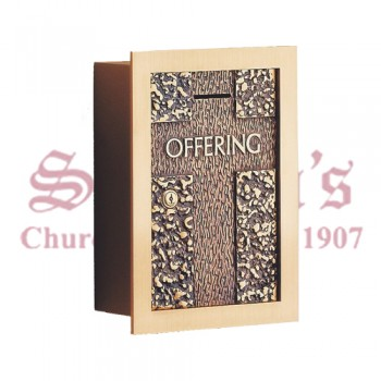 Offering Box With Cross Design
