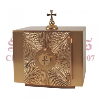 Tabernacle With Chi Rho Design