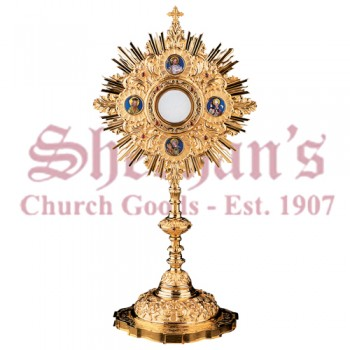 Baroque Chiseled Monstrance