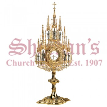 Monstrance with Gothic Filagree