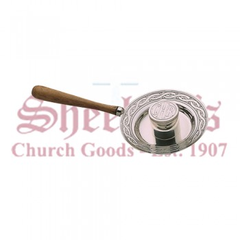 Bishop Chrism Vial with Tray