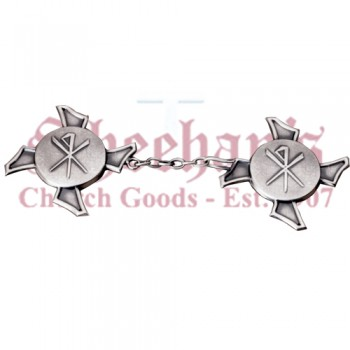 Chi Rho Clergy Cope Clasp