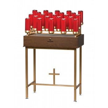 Bottle Lights Votive Stand