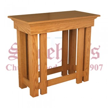 Wooden Credence Table