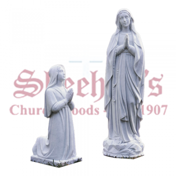 Our Lady of Lourdes and Bernadette Set