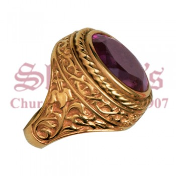 Handcrafted Bishop's Ring