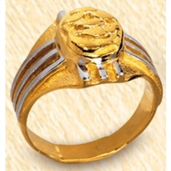 Bishop Ring with Fish Symbol