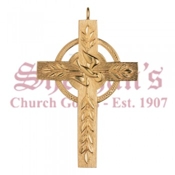 Celtic Pectoral Cross with Holy Spirit