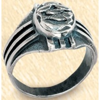 Bishop's Ring in Sterling Silver