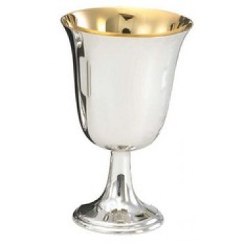 Brite-Star Anti-Tarnish Silver Communion Cup with Cross