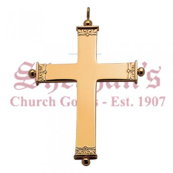 Pectoral Cross with Beaded Ends