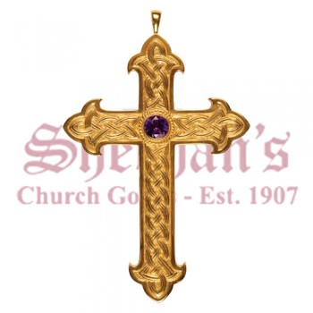 Pectoral Cross with Fleur de Lis Ends