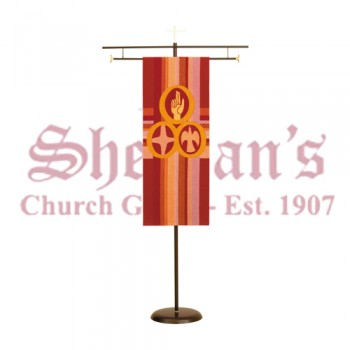 Sanctuary Processional Banner Stand