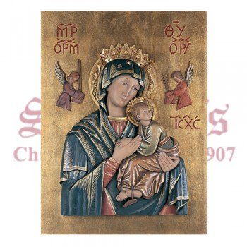 Our Lady Of Perpetual Help - High Relief