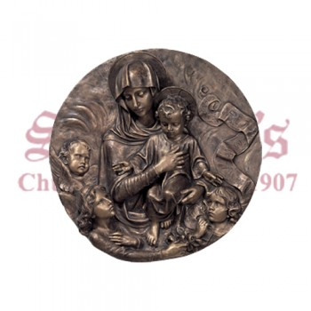Our Lady And Child - Medallion