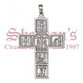 Small Sterling silver Pectoral Cross