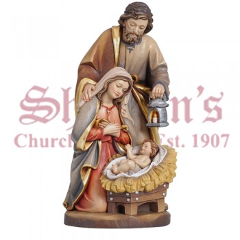 Holy Family Crib Wood Crave