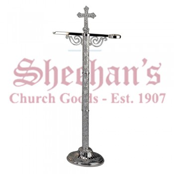 Plateresque Brass Silverplated Censer Stand
