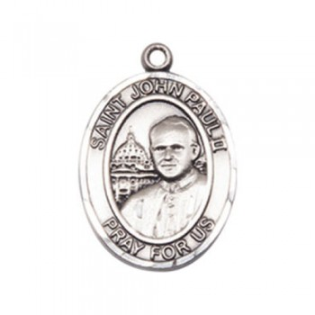 Pope John Paul II Medium Pendant