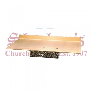 Altar Missal Stand in Antiqued Textured Finish