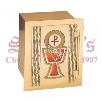 Tabernacle with Red Chalice