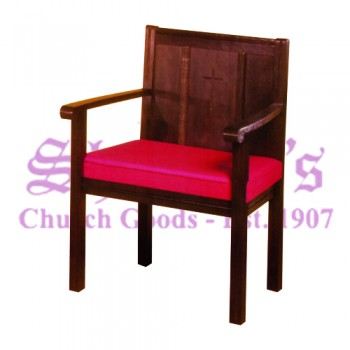 Solid Oak Sanctuary Chair
