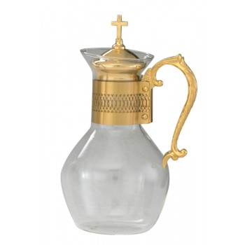 Flagon with Holder and Lid