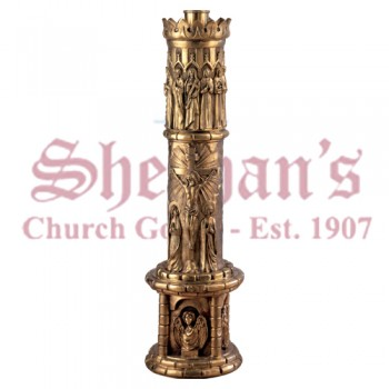 Paschal Candlestick Ornamented