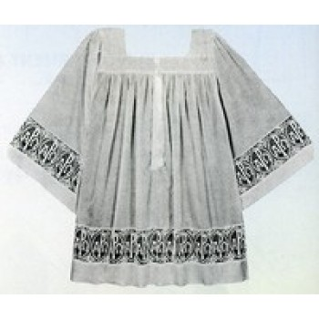 Tailored Priest Surplice with Lace Bands