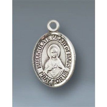 Immaculate Heart of Mary Small Pendant