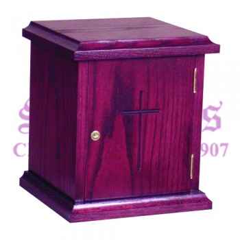 Oak Tabernacle with Lock