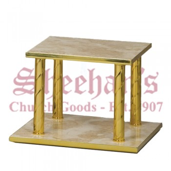 Thabor Table with Marble Shelves