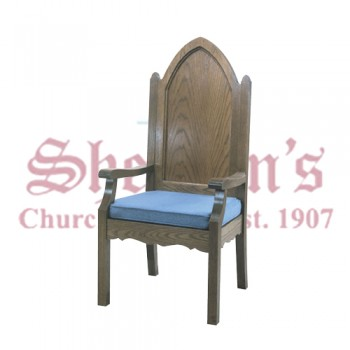 Solid Oak Celebrant Chair