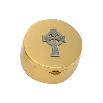Pyx with Celtic Cross