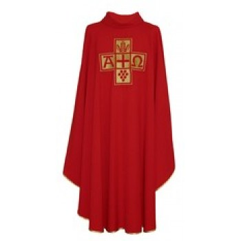 Alpha Omega Hayes and Finch Chasuble