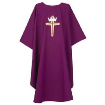 Cross and Crown Chasuble
