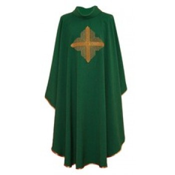 Chasuble with Contemporary Cross