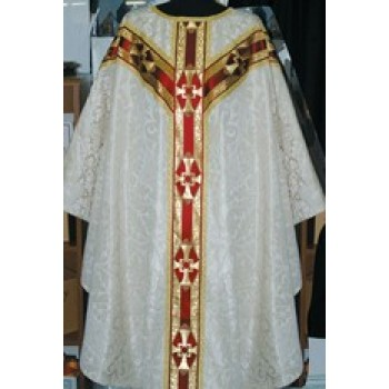 Chasuble with Y Shaped Detailing