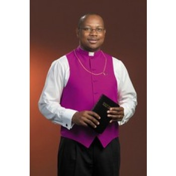 F.J.Toomey Church Purple Clergy Vest