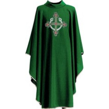 Contemporary Cross Rolled Collar Chasuble from Hayes and Finch