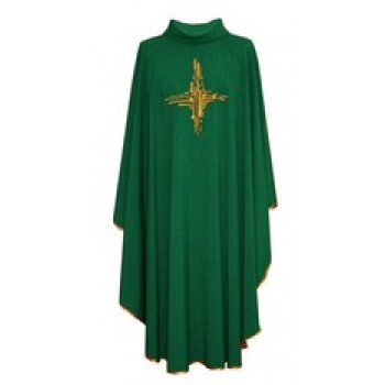 Embroidered Contemporary Cross Chasuble