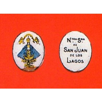 Our Lady of San Juan Enameled Medal