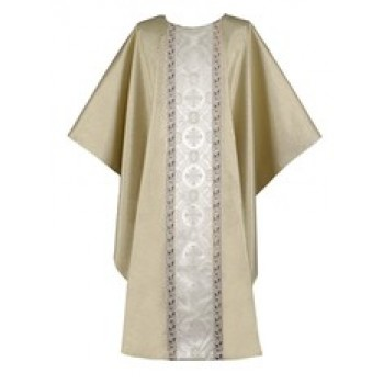 Gold Chasuble with Chiesa Brocade Orphrey