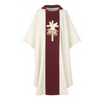 The Gift on Velvet Chasuble