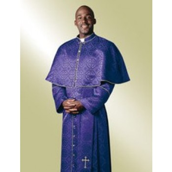 Purple Damascene Cassock